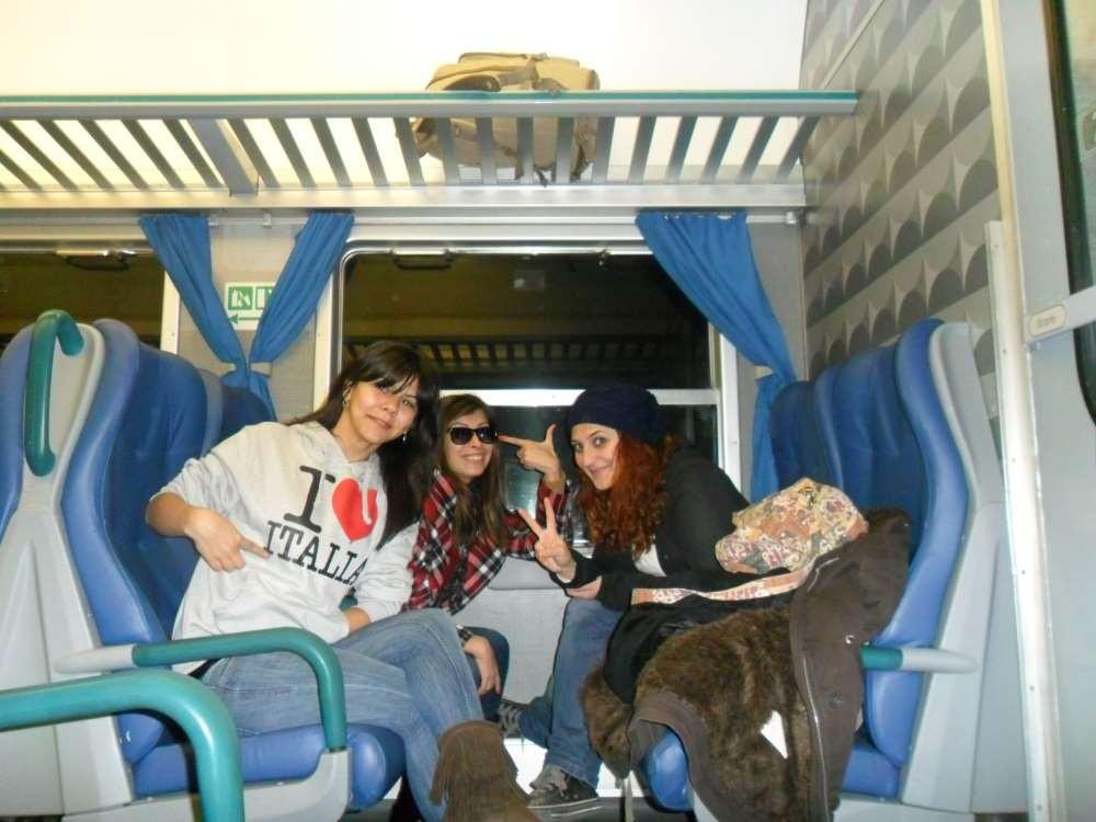 Roma - Floransa Tren Yolculuğu