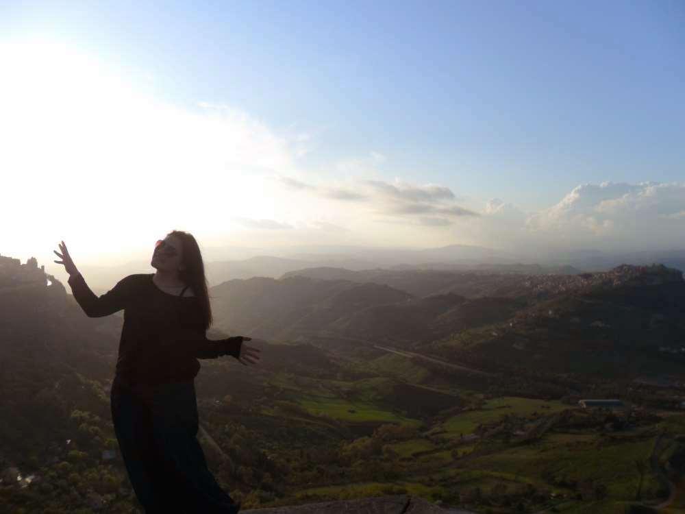 Enna - Sicilya / İtalya