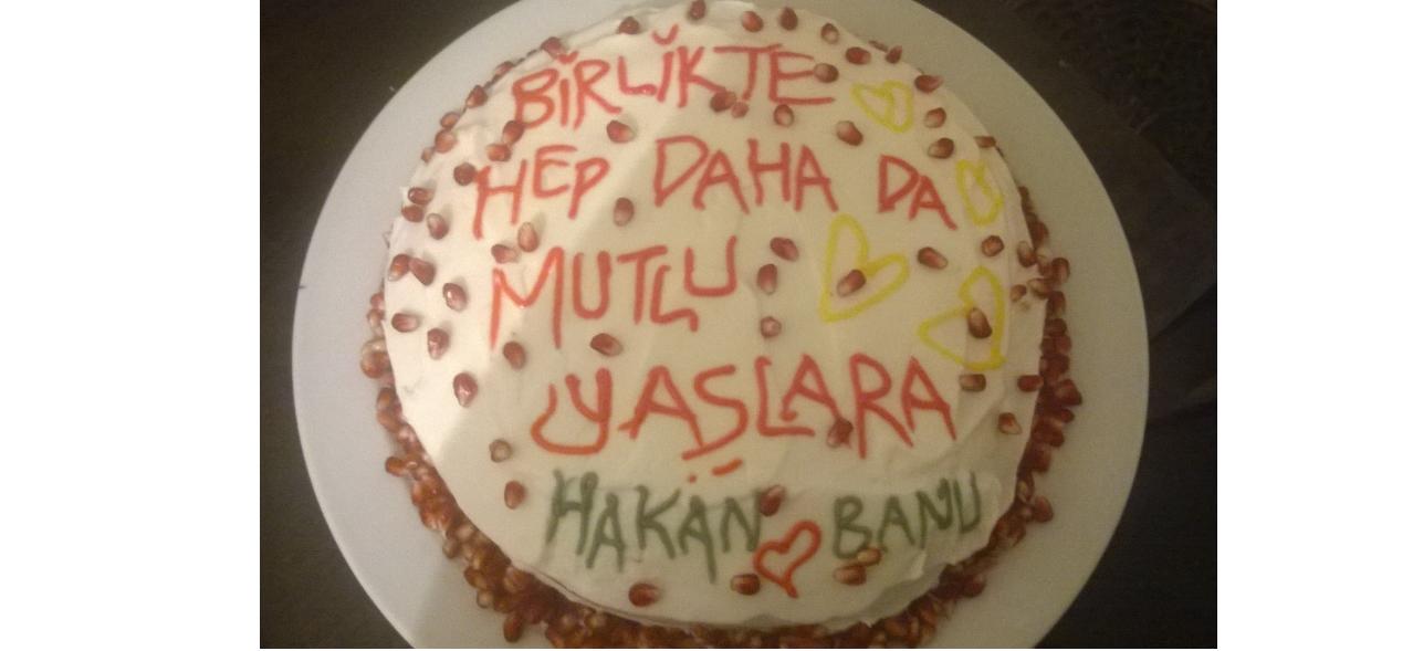 Kolay Yaş Pasta Yapımı / Doğum Günü Pastası